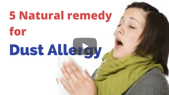 How To Prevent Dust Allergy Naturally With These 5 Tips